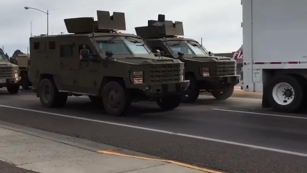 Transport broni jądrowej w stanie Montana, USA - Sputnik Polska