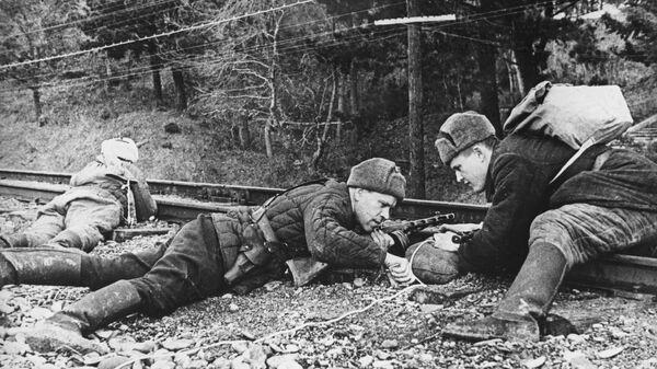 Partyzanci na Krymie, II wojna światowa - Sputnik Polska