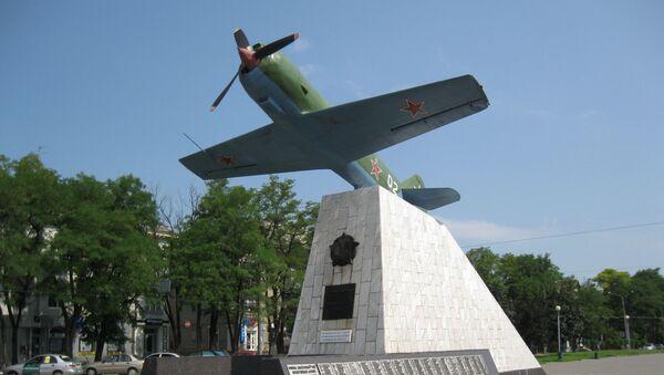 Makieta radzieckiego myśliwca Ła-11 z napędem tłokowym - Sputnik Polska