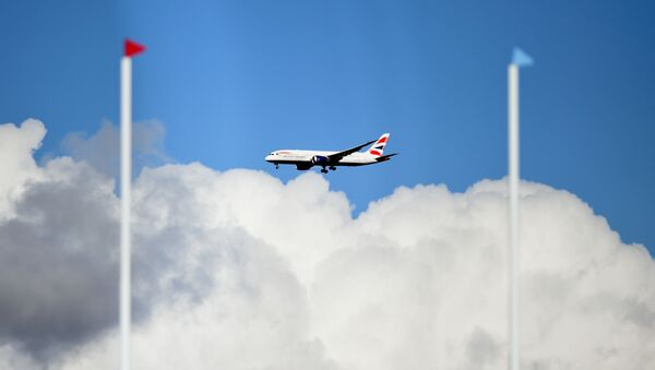 Samolot linii lotniczej British Airways - Sputnik Polska