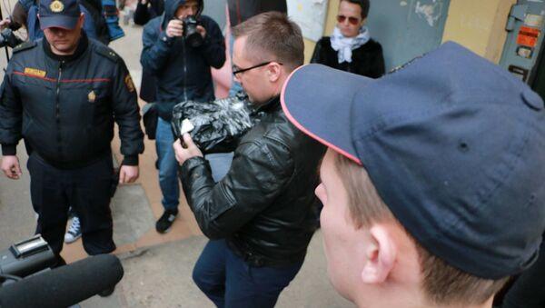 Przeszukanie w biurze Biełsatu - Sputnik Polska