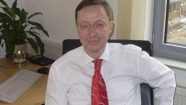 dyrektor wykonawczy Komisji Wschodniej Niemieckiej Gospodarki Michael Harms - Sputnik Polska