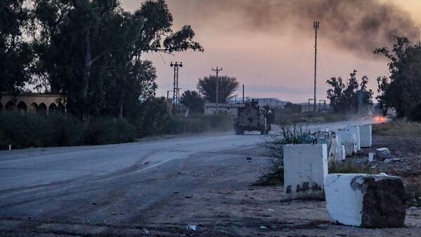 Ofensywa Libijskiej Armii Narodowej Chalifa Haftary na przedmieściach Trypolisu - Sputnik Polska