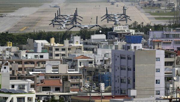 Baza USa w Okinawie, Japonia - Sputnik Polska