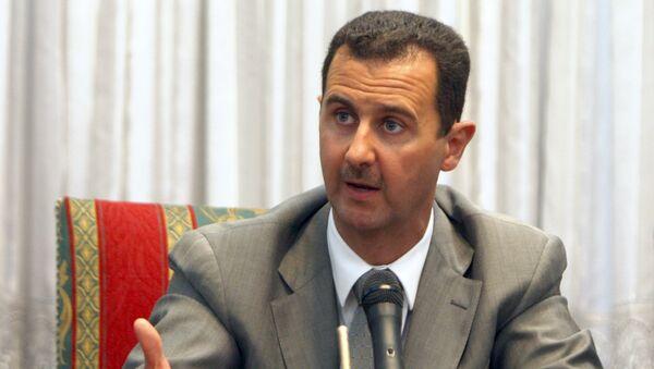 Baszszar al-Asad, prezydent Syrii - Sputnik Polska