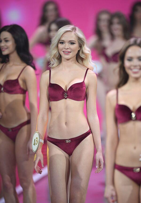 Uczestniczki finału konkursu Miss Rosji 2019 w Barvikha Luxury Village - Sputnik Polska