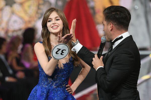 Miss Rosji 2019 Alina Sańko (Azow) w finale konkursu Miss Rosji 2019 w Barvikha Luxury Village - Sputnik Polska
