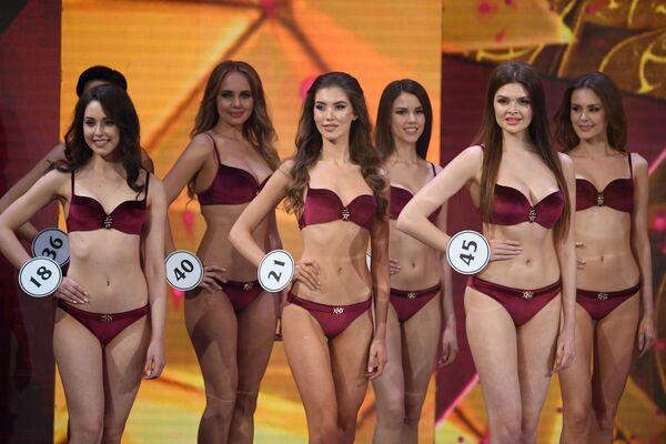 Uczestniczki finału Miss Rosji 2019 w Barvikha Luxury Village - Sputnik Polska