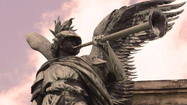 Pomnik Niederwald w Niemczech - Sputnik Polska