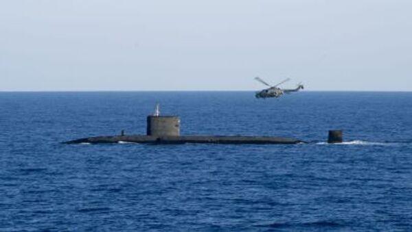 Brytyjski okręt podwodny z napędem atomowym HMS Talent - Sputnik Polska