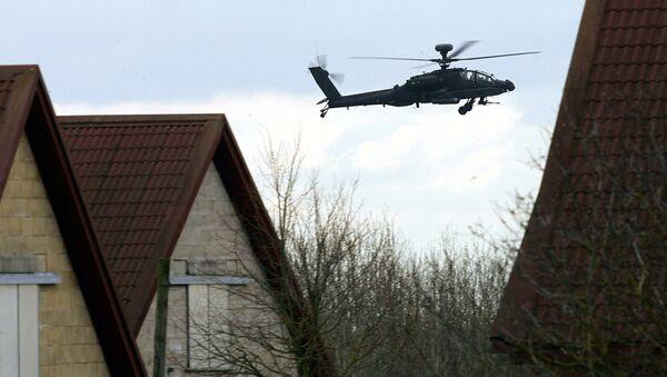Helikopter szturmowy Apache Brytyjskich Sił Powietrznych - Sputnik Polska