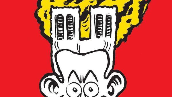 Okładka nowego numeru Charlie Hebdo z karykaturą pożaru w katedrze Notre Dame - Sputnik Polska