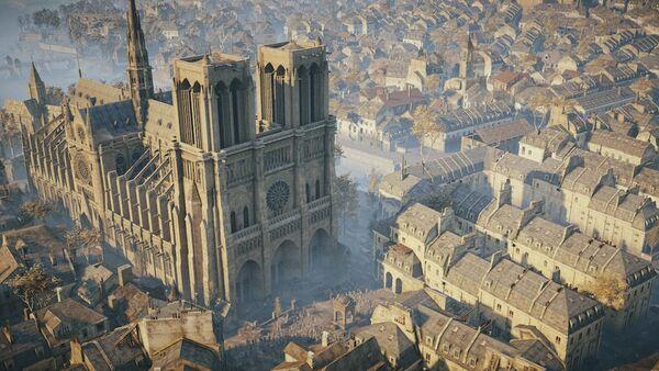 Katedra Notre Dame w grze Assassin's Creed Unity - Sputnik Polska