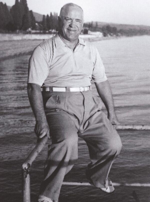 Gieorgij Żukow w Soczi w latach 50. XX wieku - Sputnik Polska