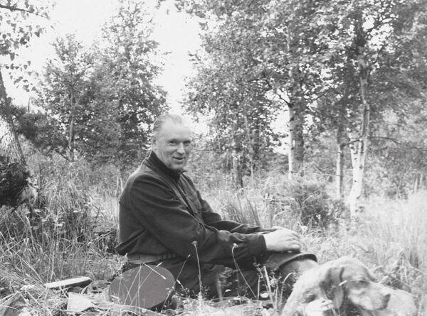 Konstantin Rokossowski na polowaniu - Sputnik Polska