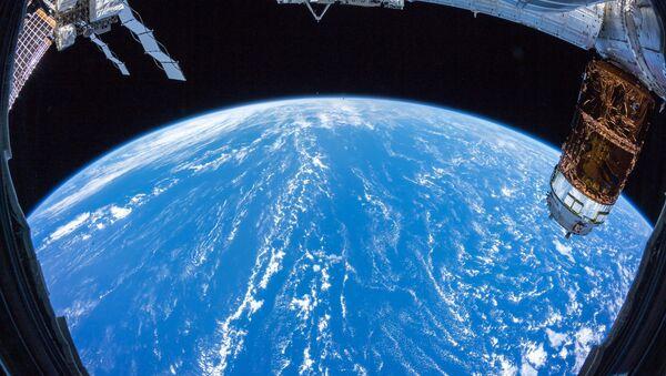 Ziemia z pokładu Międzynarodowej Stacji Kosmicznej - Sputnik Polska