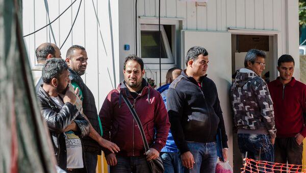 Uchodźcy w Belgii - Sputnik Polska
