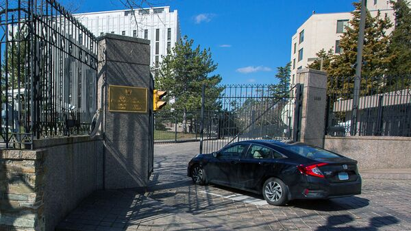 Ambasada Rosji w USA - Sputnik Polska