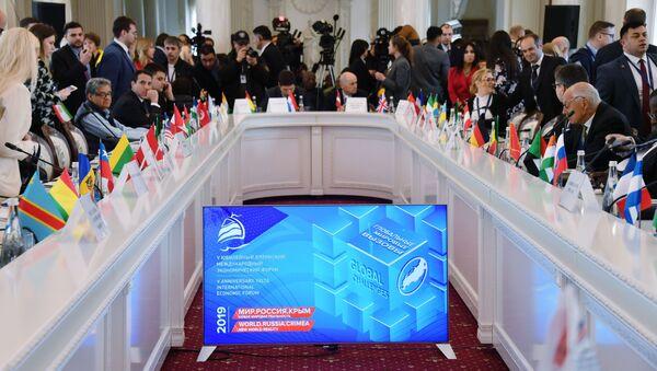 Konferencja Świat sankcji, globalne wyzwania w Jałcie - Sputnik Polska