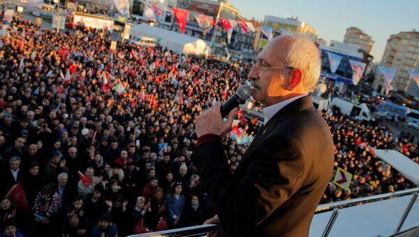 Kemal Kılıçdaroğlu  - Sputnik Polska