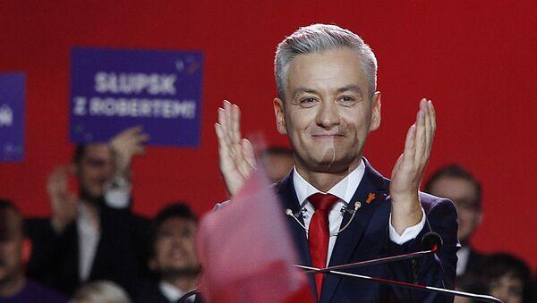Lider polskiej partii Wiosna Robert Biedroń - Sputnik Polska