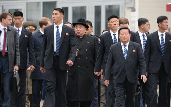 Kim Dzong Un przybył do Władywostoku - Sputnik Polska