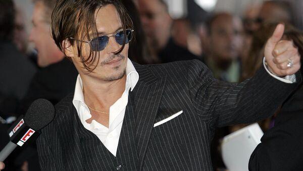 Amerykański aktor Johnny Depp - Sputnik Polska