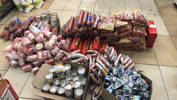 Objęte zakazem wwozu produkty z Litwy, Polski i Niemiec, znalezione w Kaliningradzie - Sputnik Polska