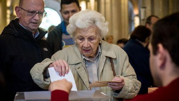 Wybory w Hiszpanii - Sputnik Polska