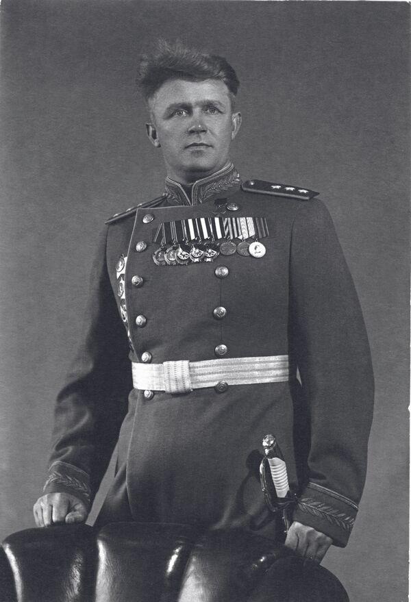 Siergiej Rudenko, radziecki dowódca wojskowy, marszałek lotnictwa ZSRR i Bohater Związku Radzieckiego  - Sputnik Polska