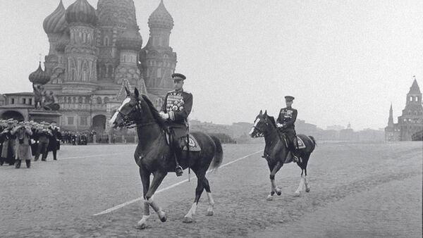 Konstanty Rokossowski, polski i sowiecki żołnierz, dowódca, marszałek Polski i marszałek Związku Radzieckiego, dwukrotny Bohater Związku Radzieckiego - Sputnik Polska