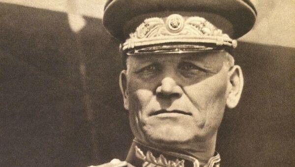 Iwan Stiepanowicz Koniew – radziecki dowódca wojskowy, marszałek Związku Radzieckiego - Sputnik Polska