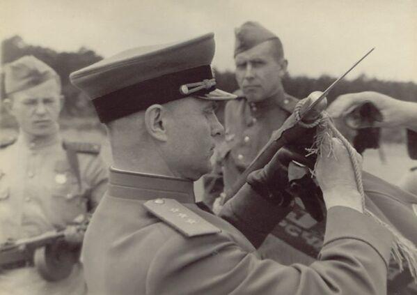 Parada Zwycięstwa w Niemczech, 1945 rok  - Sputnik Polska
