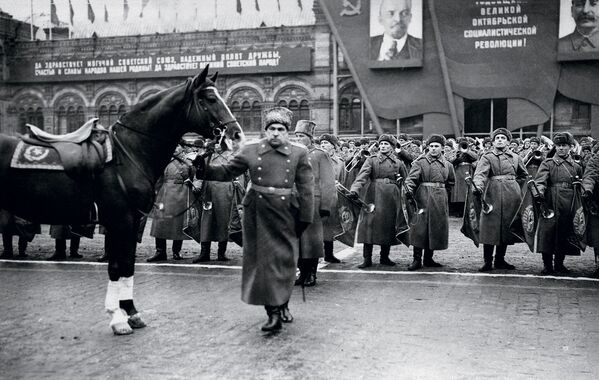 Leonid Goworow, rosyjski i radziecki dowódca wojskowy, dowódca obrony Leningradu podczas II wojny światowej - Sputnik Polska