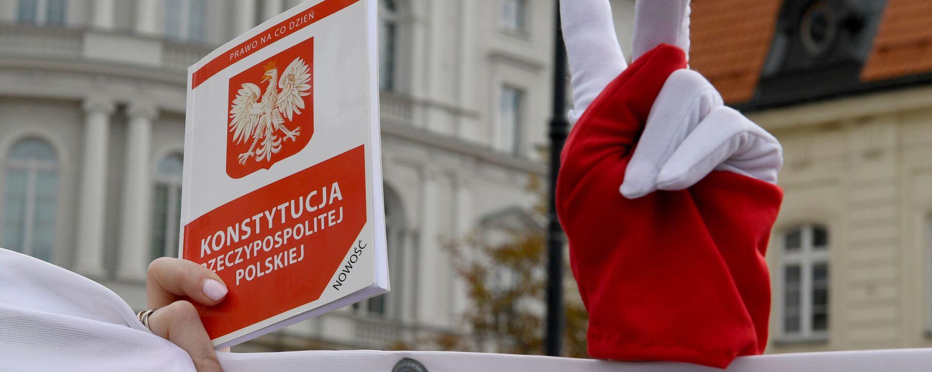 Konstytucja Rzeczpospolitej Polski - Sputnik Polska, 1920, 08.10.2021