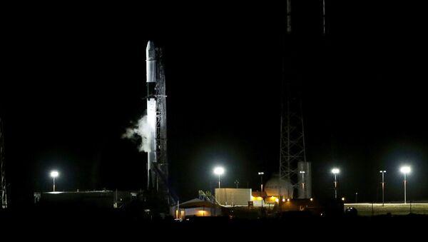 Uruchomienie rakiety Falcon 9 ze statkiem kosmicznym Dragon na ISS - Sputnik Polska