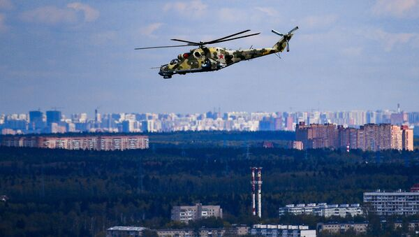 Śmigłowiec Mi-35 - Sputnik Polska