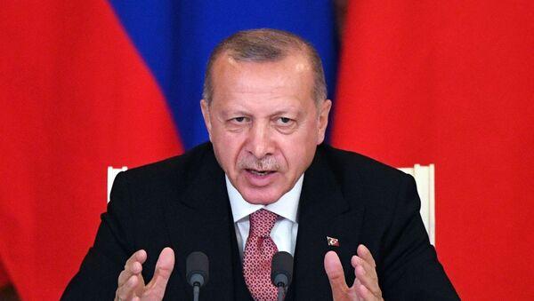 Tayyip Recep Erdogan - Sputnik Polska