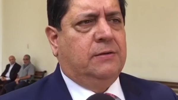 Pierwszy wiceprzewodniczący opozycyjnego parlamentu Wenezueli Edgar Zambrano - Sputnik Polska