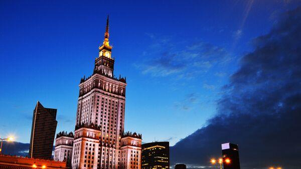 Pałac Kultury i Nauki w Warszawie, 2014 rok  - Sputnik Polska