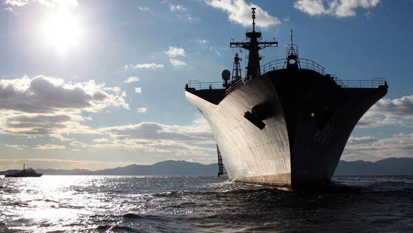 Japoński okręt Osumi - Sputnik Polska