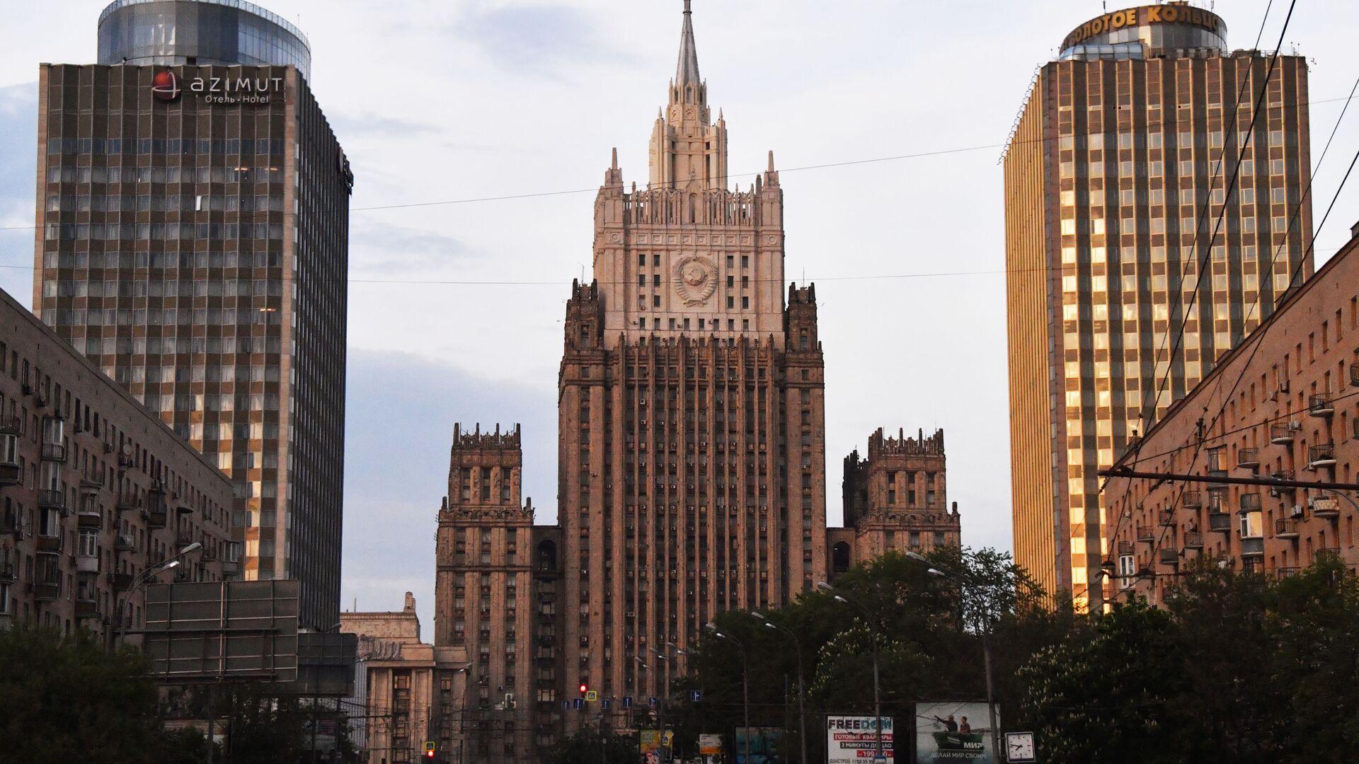 Budynek MSZ Federacji Rosyjskiej - Sputnik Polska, 1920, 18.08.2021