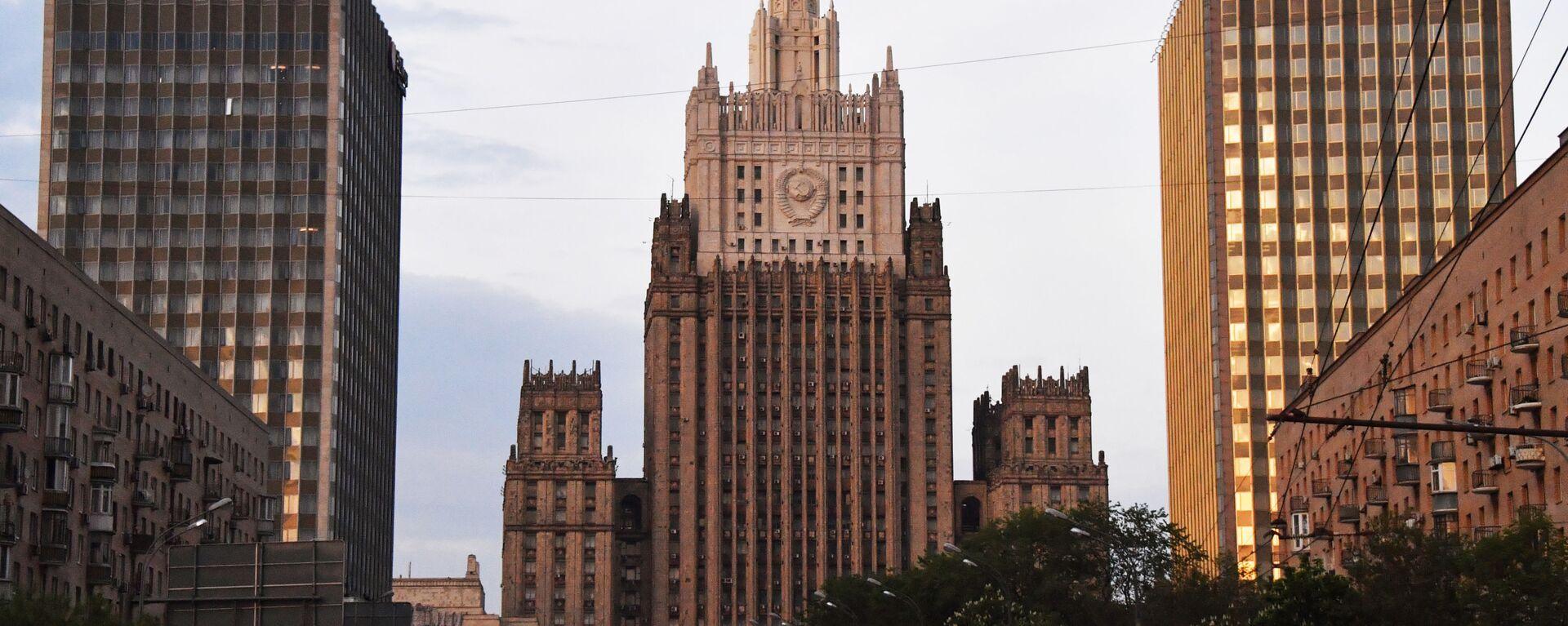 Budynek MSZ Federacji Rosyjskiej - Sputnik Polska, 1920, 16.09.2021