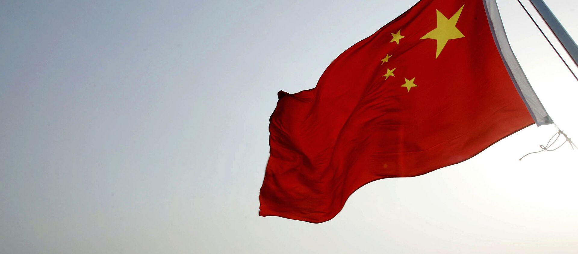 Chińska flaga w porcie Zhoushan  - Sputnik Polska, 1920, 01.03.2021