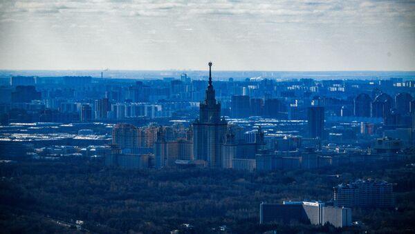 Panorama Moskwy z wieży widokowej PANORAMA360 - Sputnik Polska