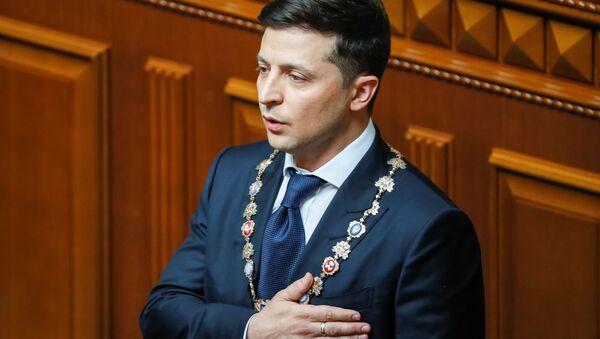 Inauguracja prezydenta Ukrainy Wołodymyra Zełenskiego - Sputnik Polska