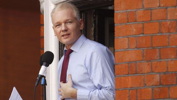 Założyciel WikiLeaks Julian Assange. Archiwalne zdjęcie - Sputnik Polska