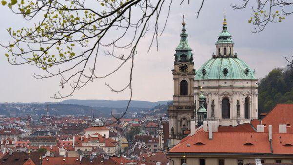 Kościół św. Mikołaja w Pradze - Sputnik Polska