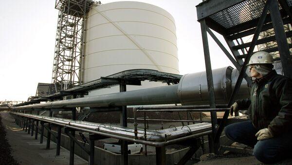 Magazyn skroplonego gazu ziemnego w Stanach Zjednoczonych - Sputnik Polska