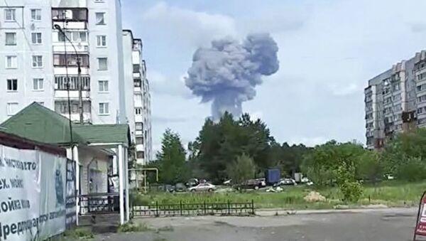 Wybuch w zakładzie zbrojeniowym pod Niżnym Nowogrodem  - Sputnik Polska